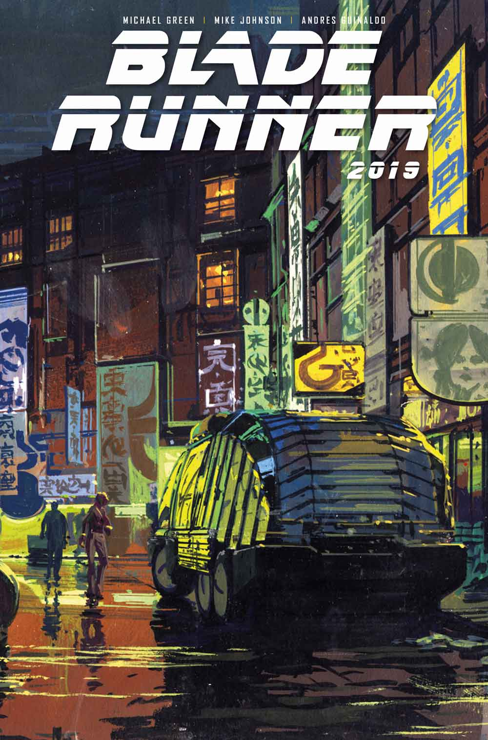 Blade Runner Cover B: Syd Mead