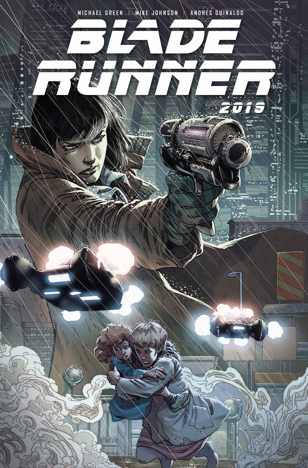 Blade Runner Cover C: Andres Guinaldo