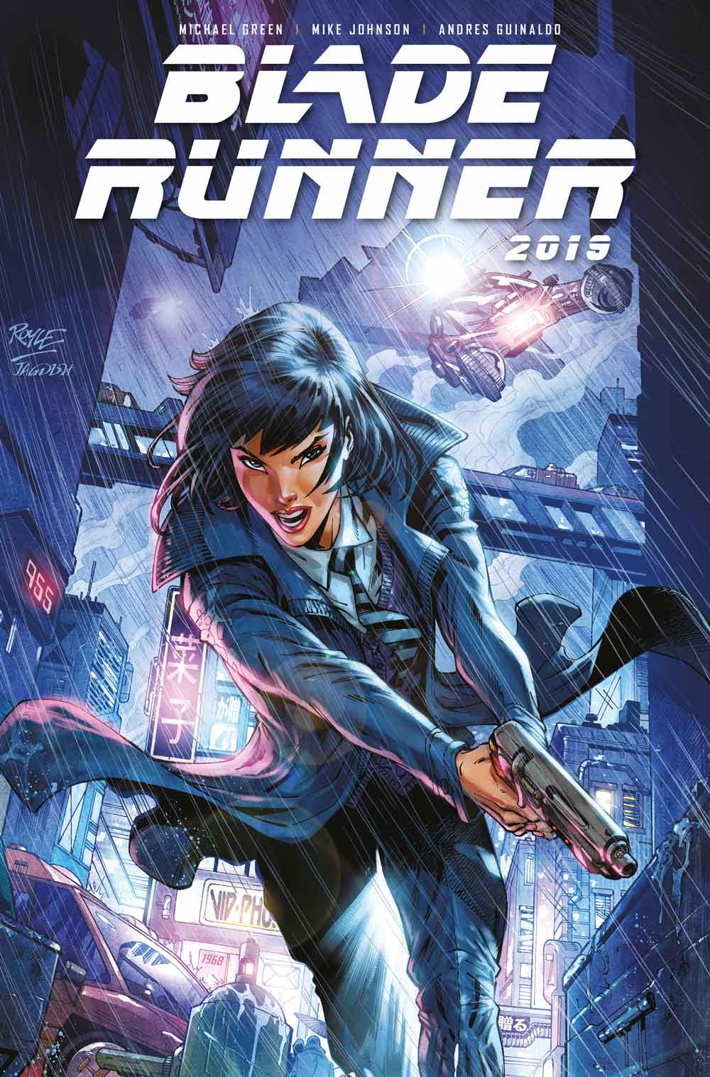 Blade Runner Cover D: John Royle