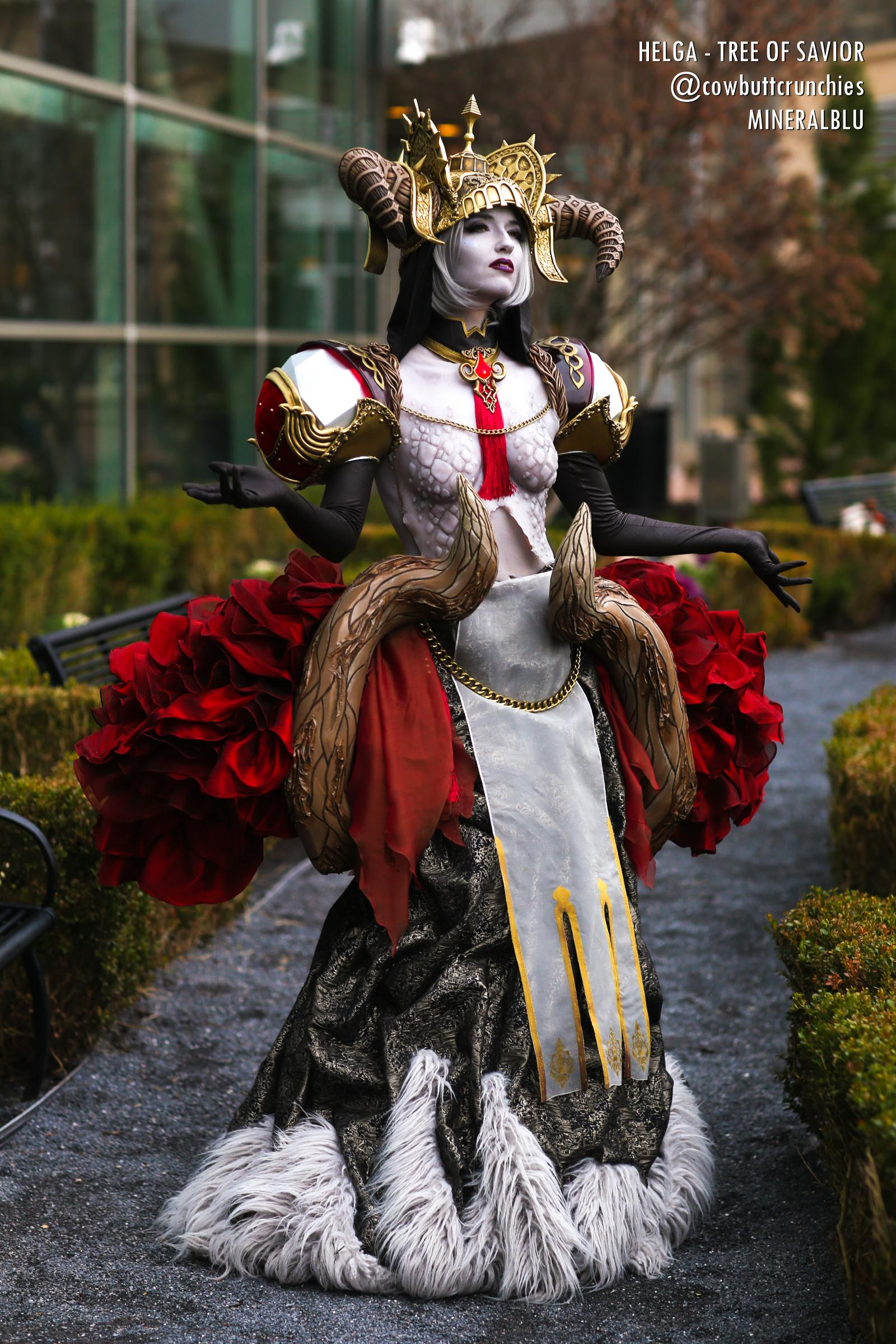 Helgasercle cosplay from Tree of Savior