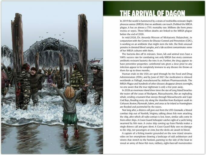 The arrival of Dagon