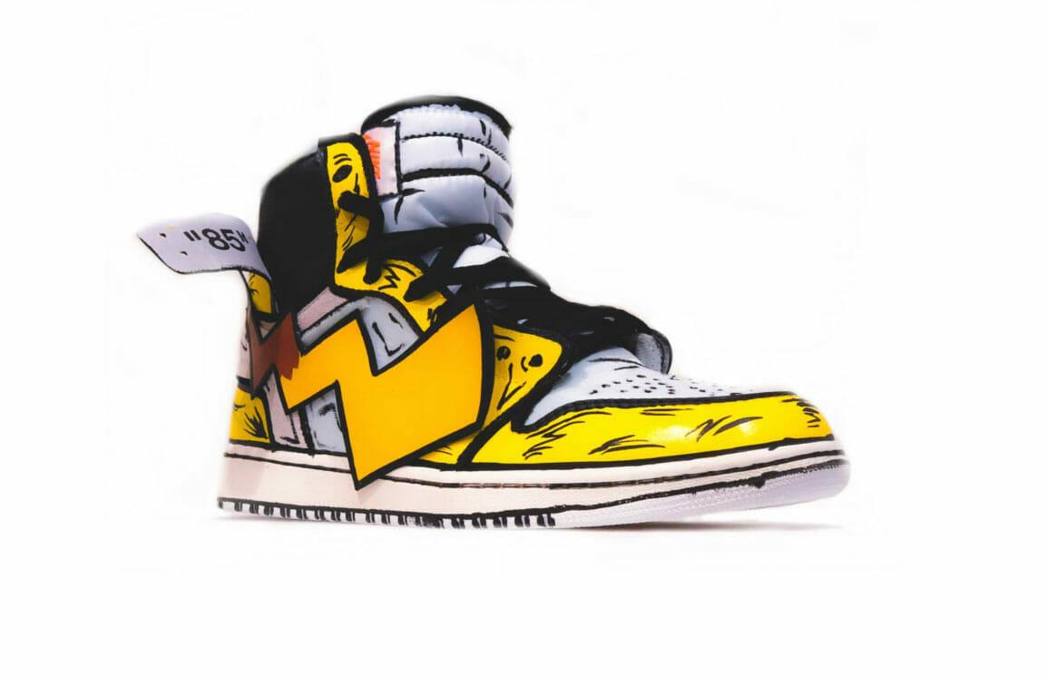 Pikachu as a shoe