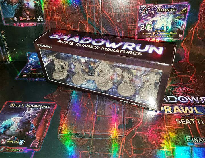 Shadowrun Prime Runner miniatures