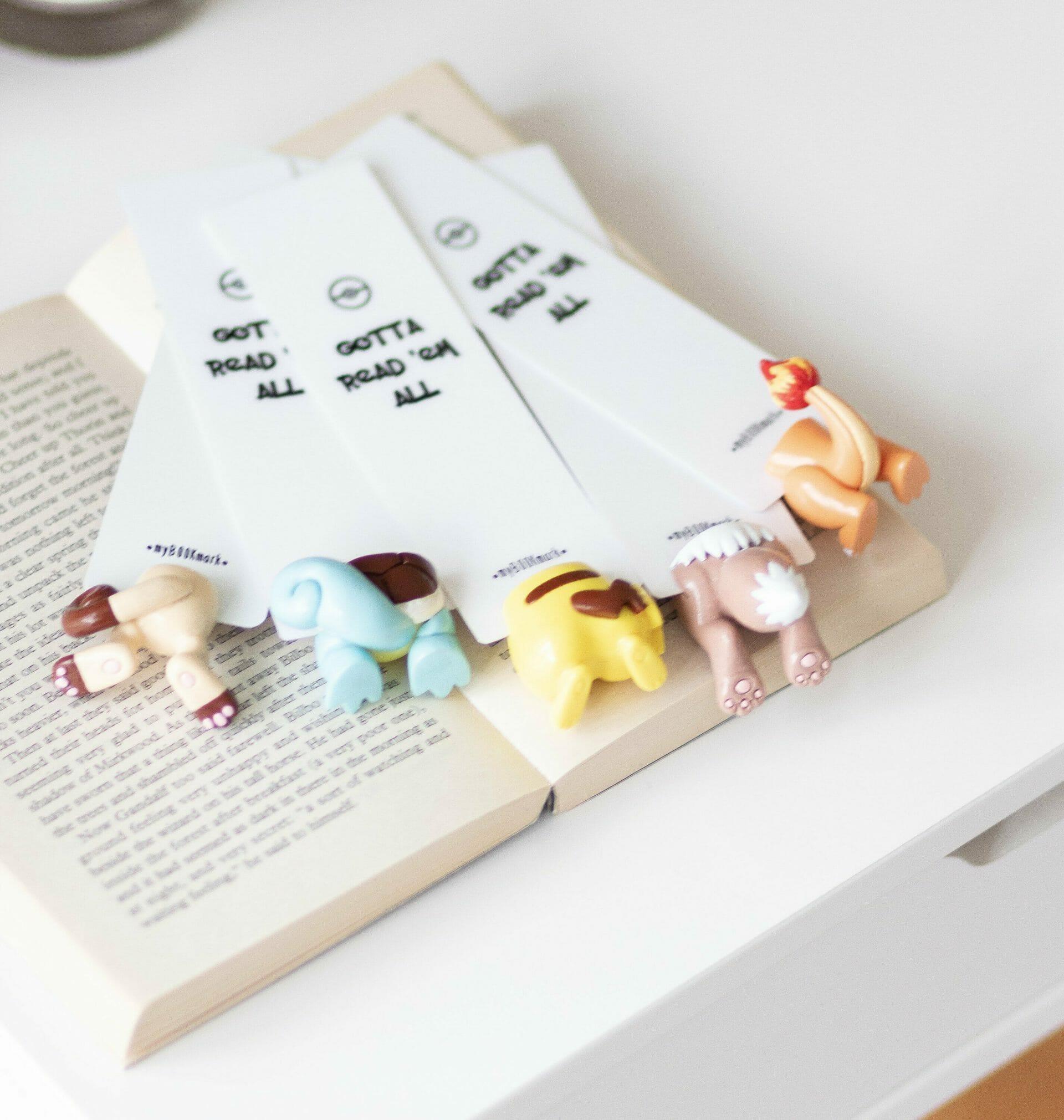 Pokemon bookmarks