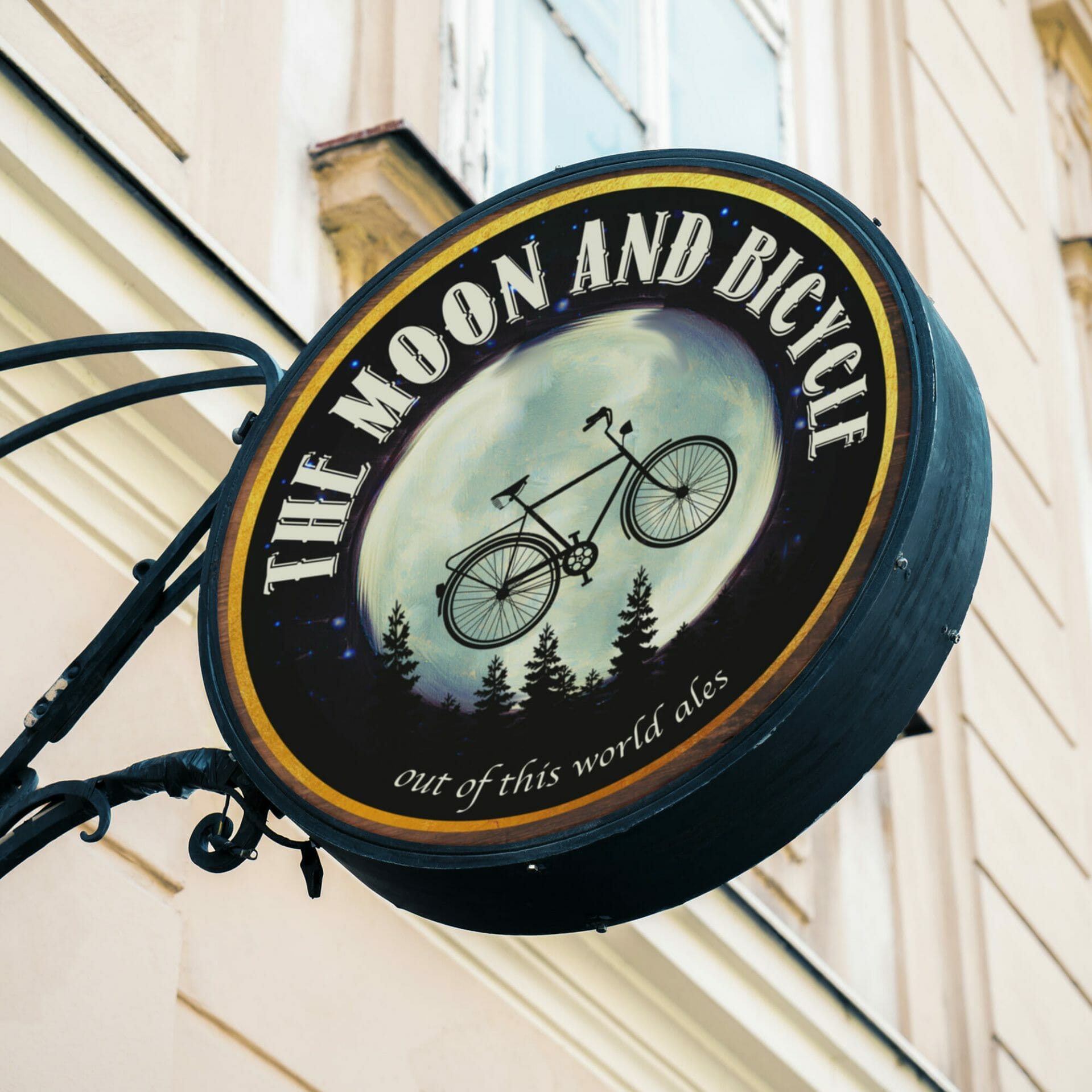 The Moon and Bicycle