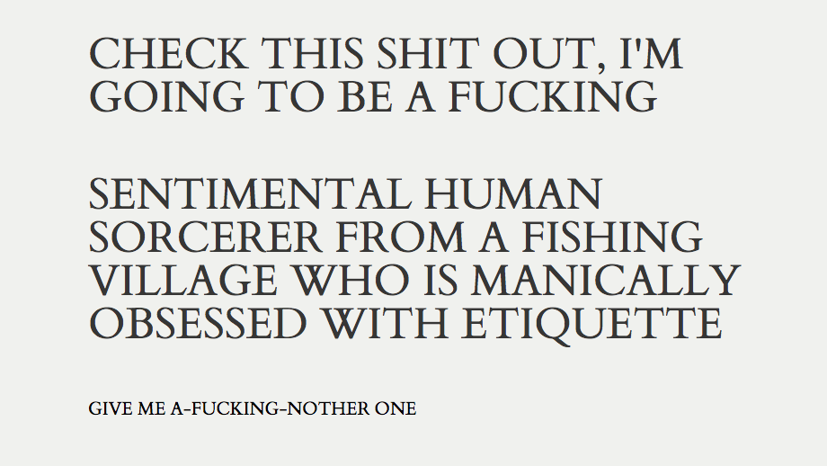 Rude human D&D character background