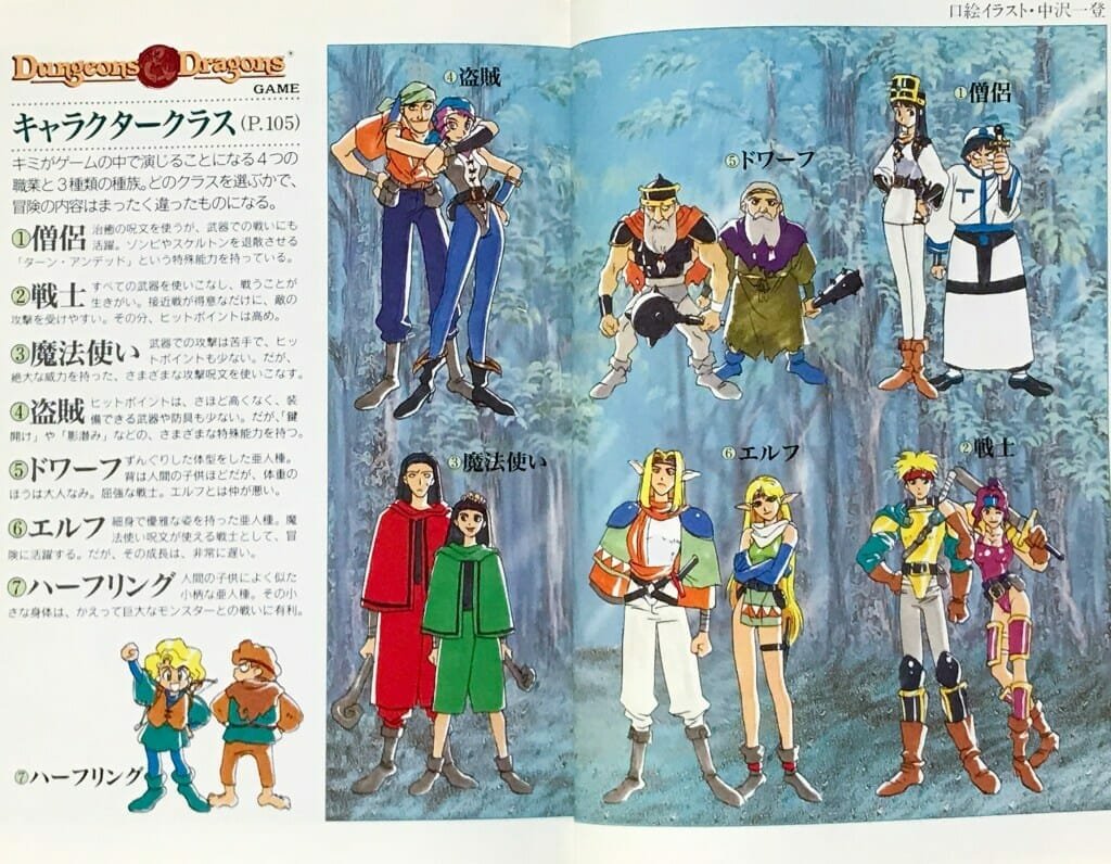 Dungeons & Dragons in Japanese