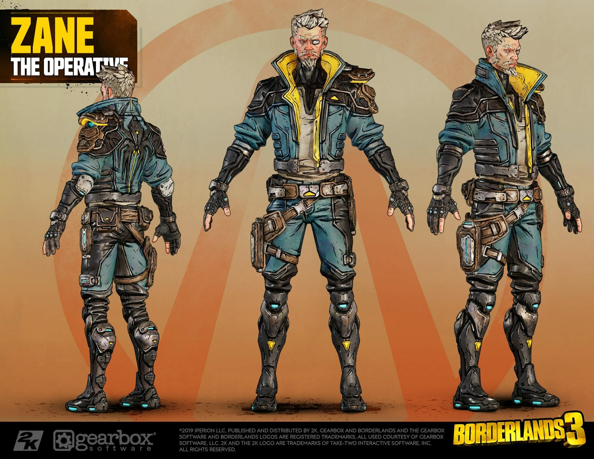 Zane, The Operative, Borderlands 3