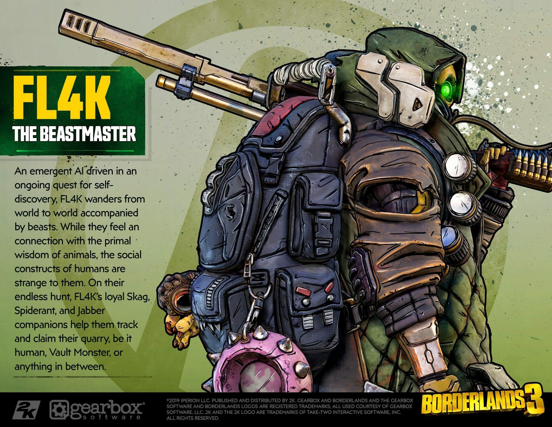 Fl4k, The Beastmaster, Borderlands 3