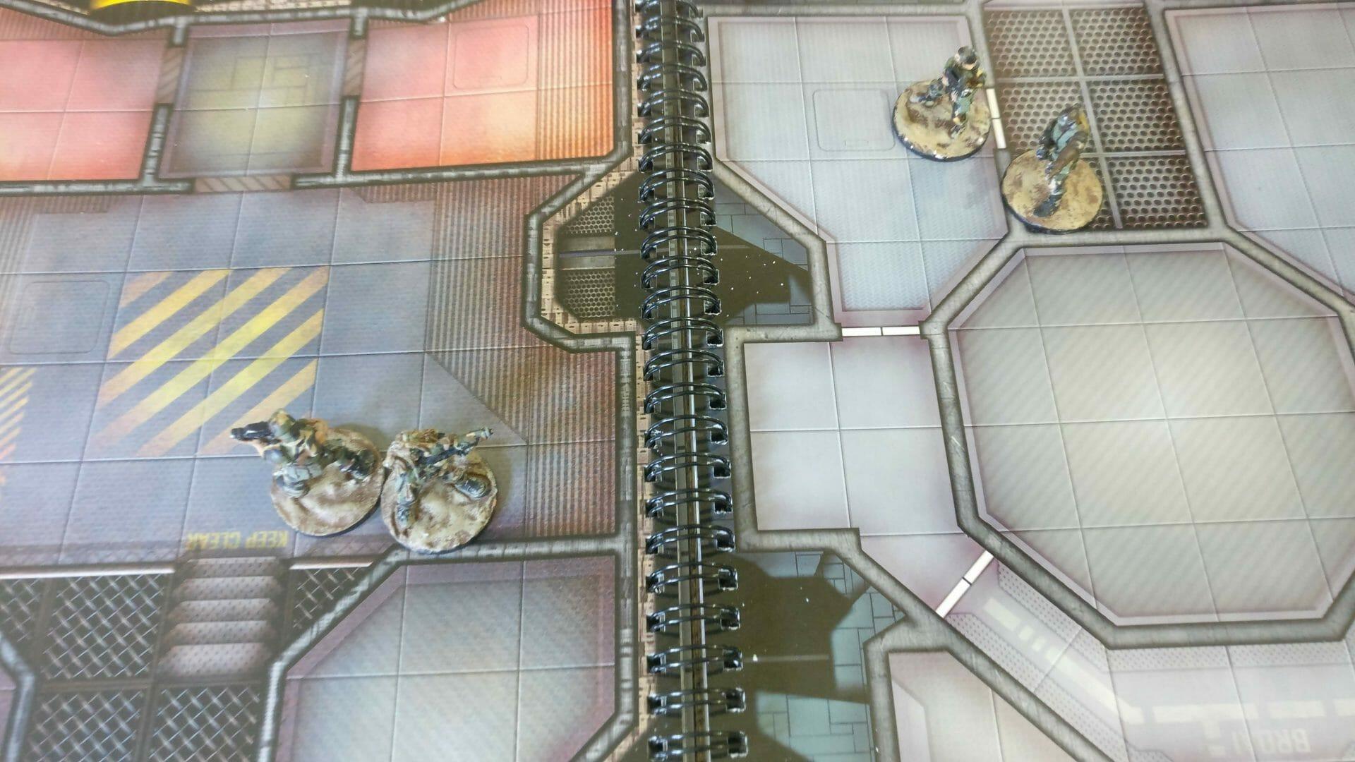 sci-fi gaming mat