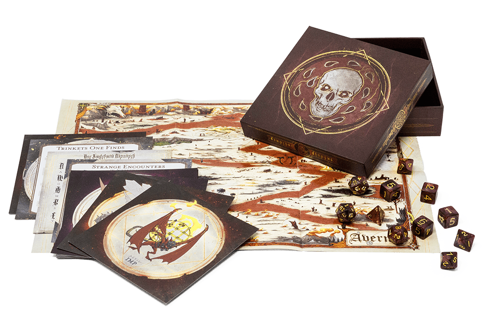 Baldur's Gate: Descent into Avernus dice box set