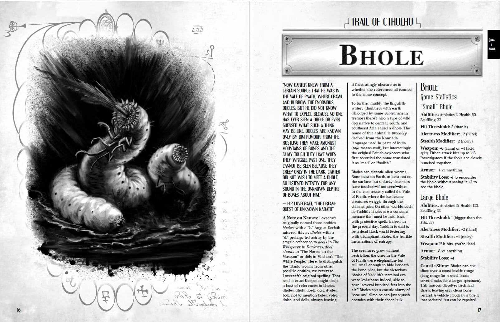 Hideous Creatures: A Bestiary of the Cthulhu Mythos preview