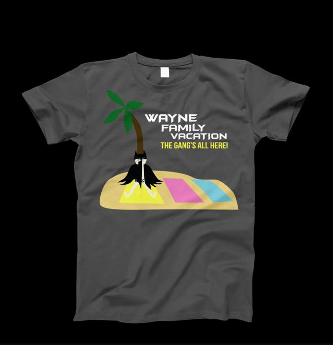 Wayne family vacation