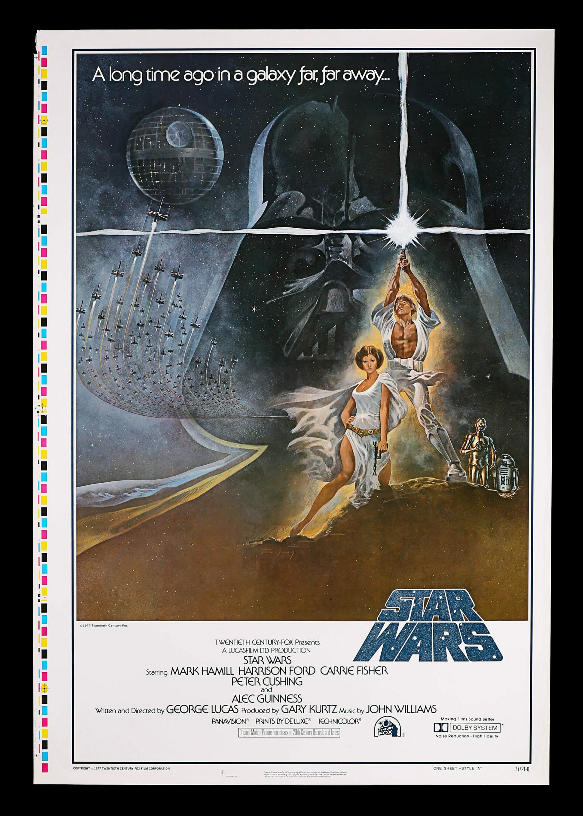 Star Wars one sheet