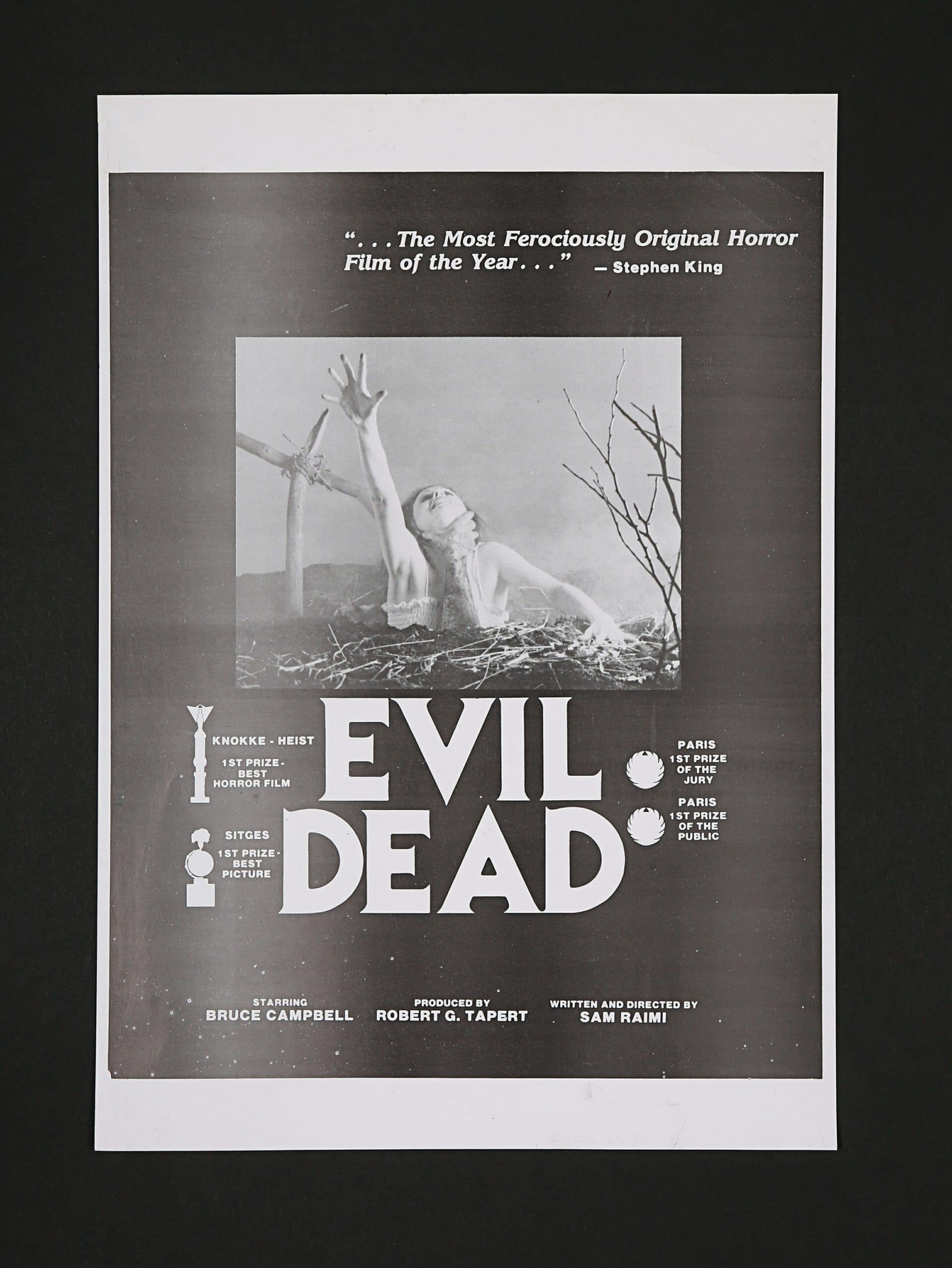 Evil Dead trade artwork