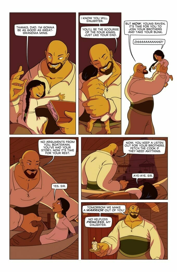 Princeless: The Pirate Princess preview