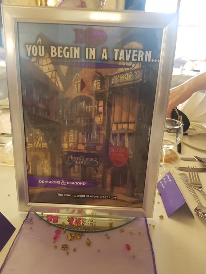 You begin in a tavern
