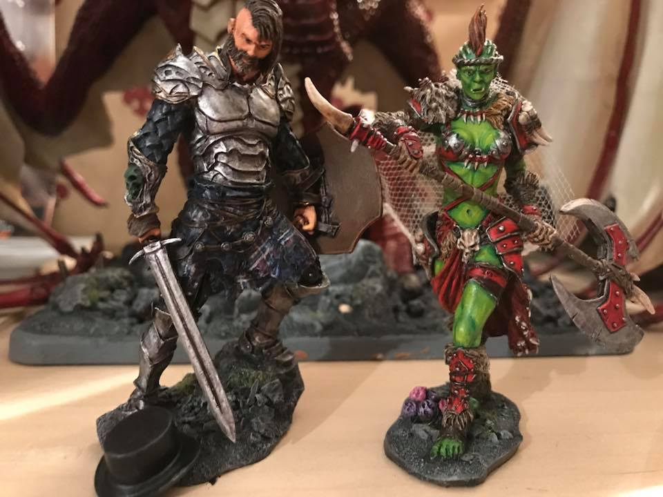 D&D wedding toppers