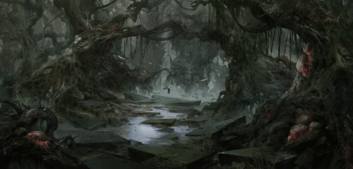 Deepwood broken path
