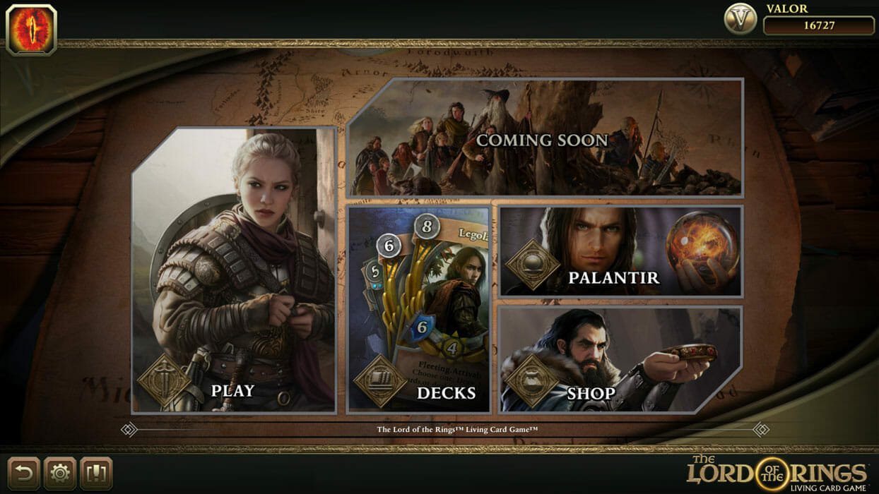 he Lord of the Rings: Adventure Card Game