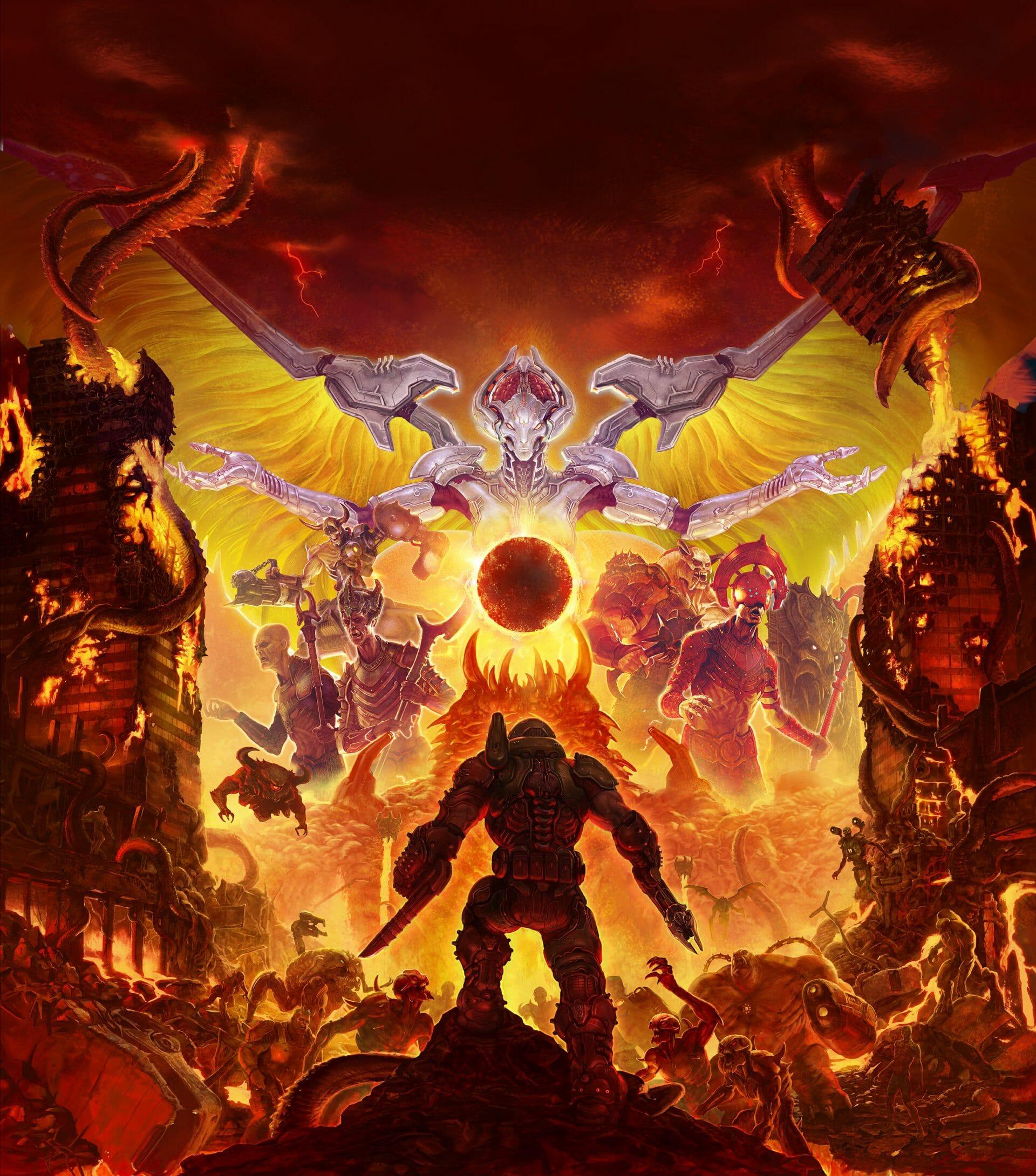The origins of the Doom Slayer