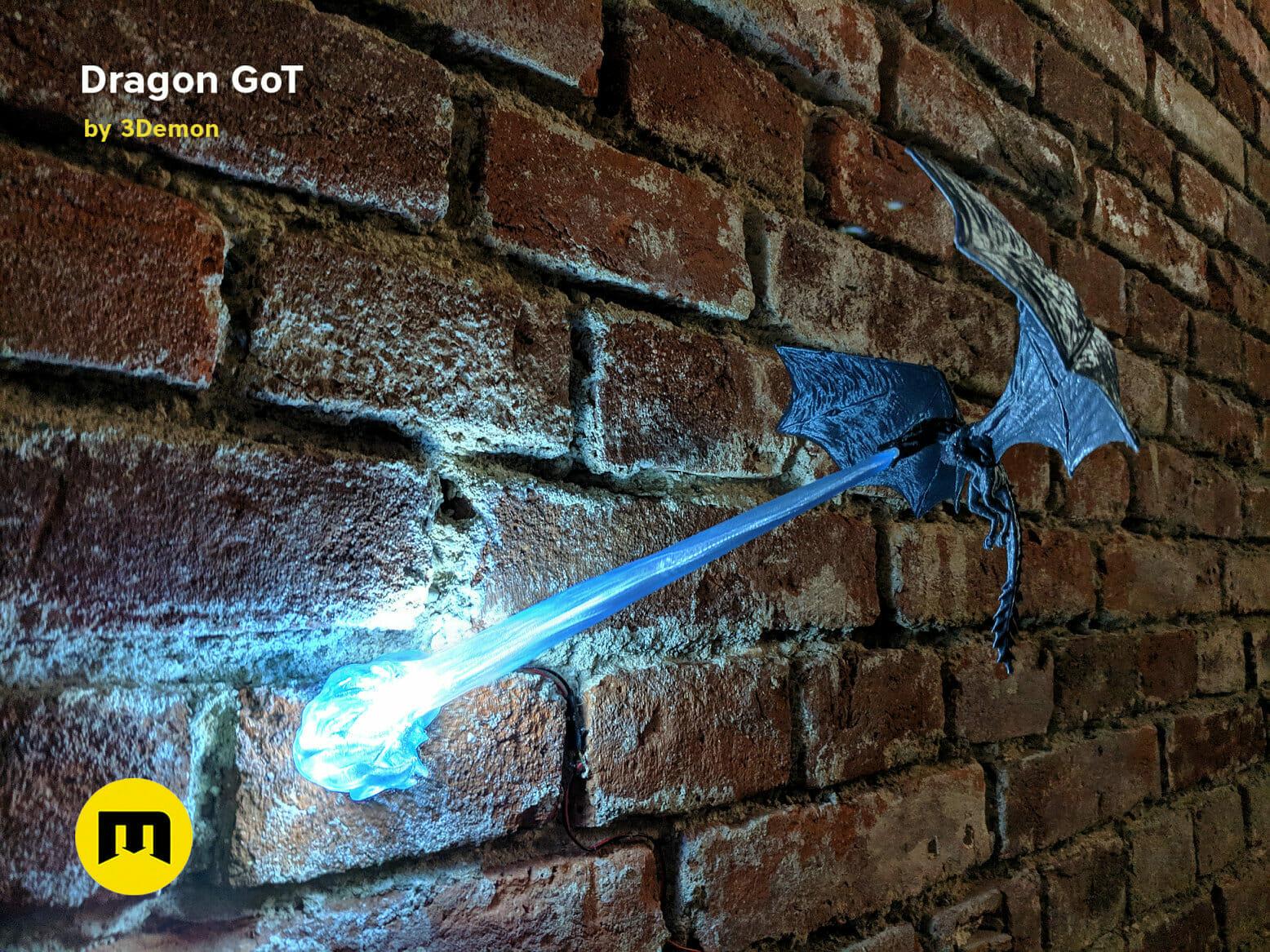 Wall dragon
