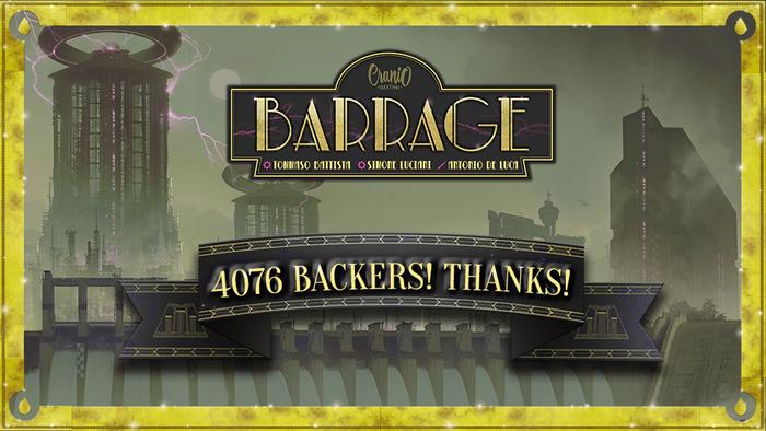 Barrage on Kickstarter