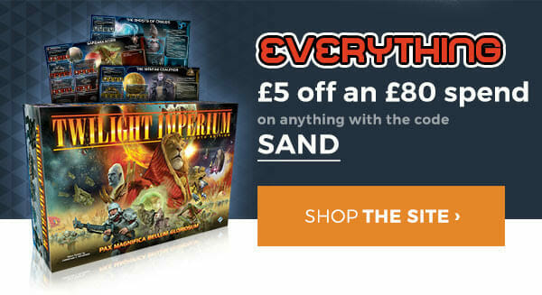 SAND for £5 off anything and everything