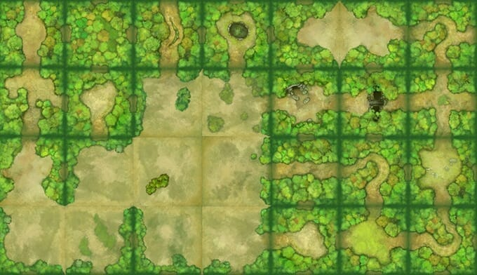 Map tile example