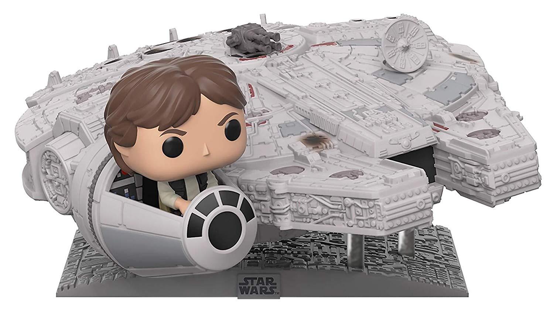 Han Solo and Millennium Falcon pop