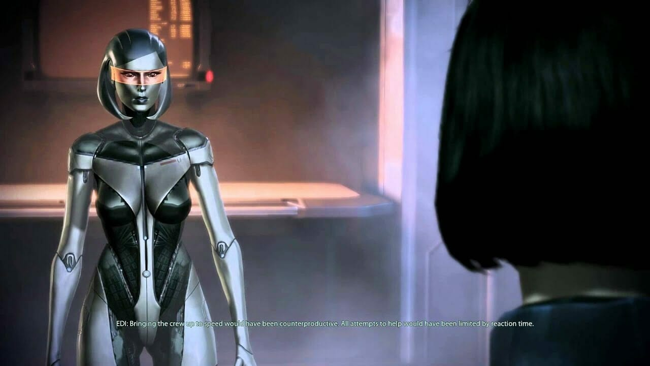 Edi from Mass Effect 3