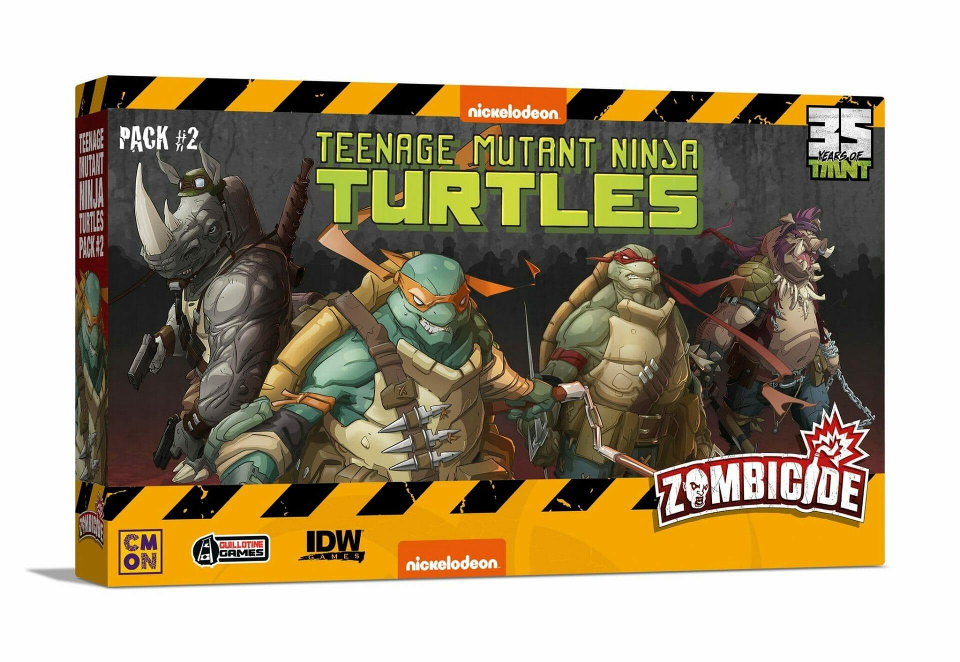 Teenage Mutant Ninja Turtles Zombicide