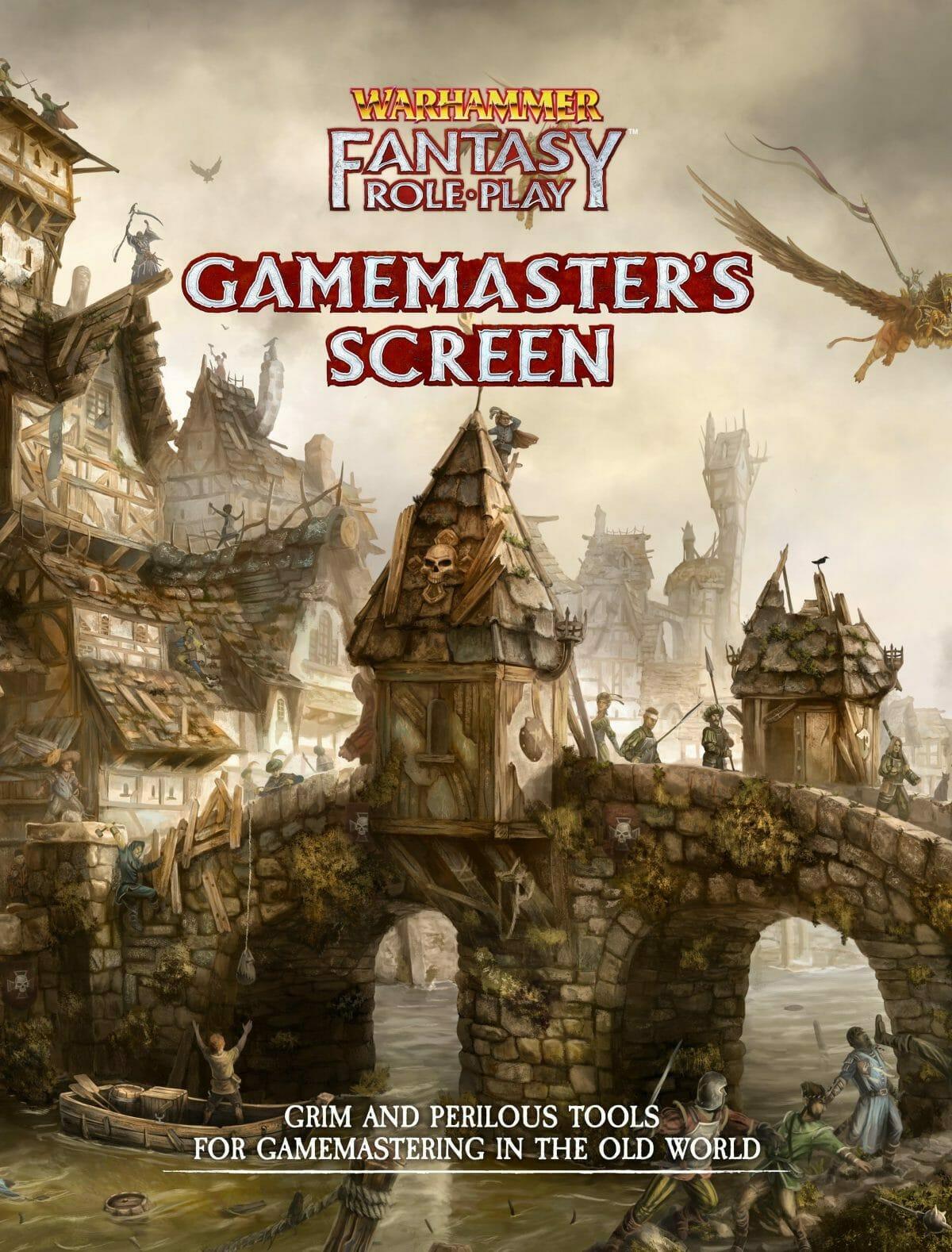 Warhammer GM screen