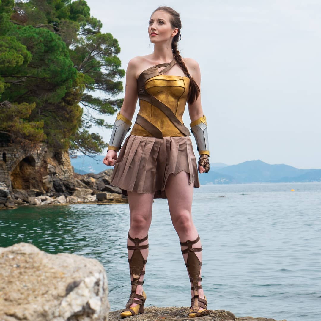 Superhero Week Lola V As Themyscira Wonder Woman