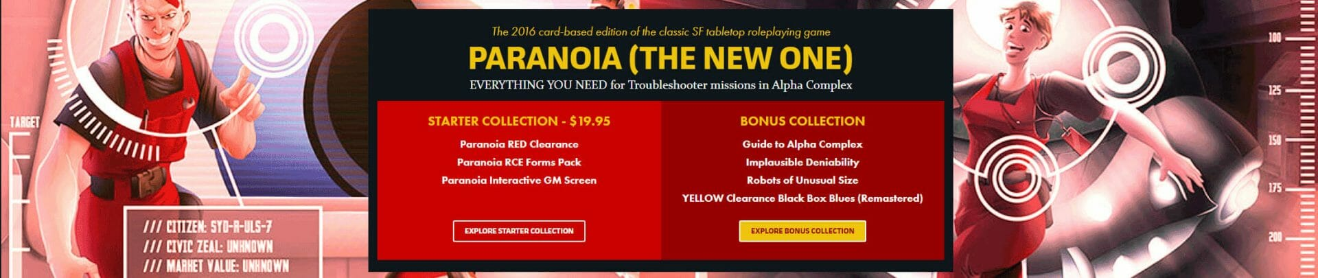 Paranoia RED Clearance Bundle