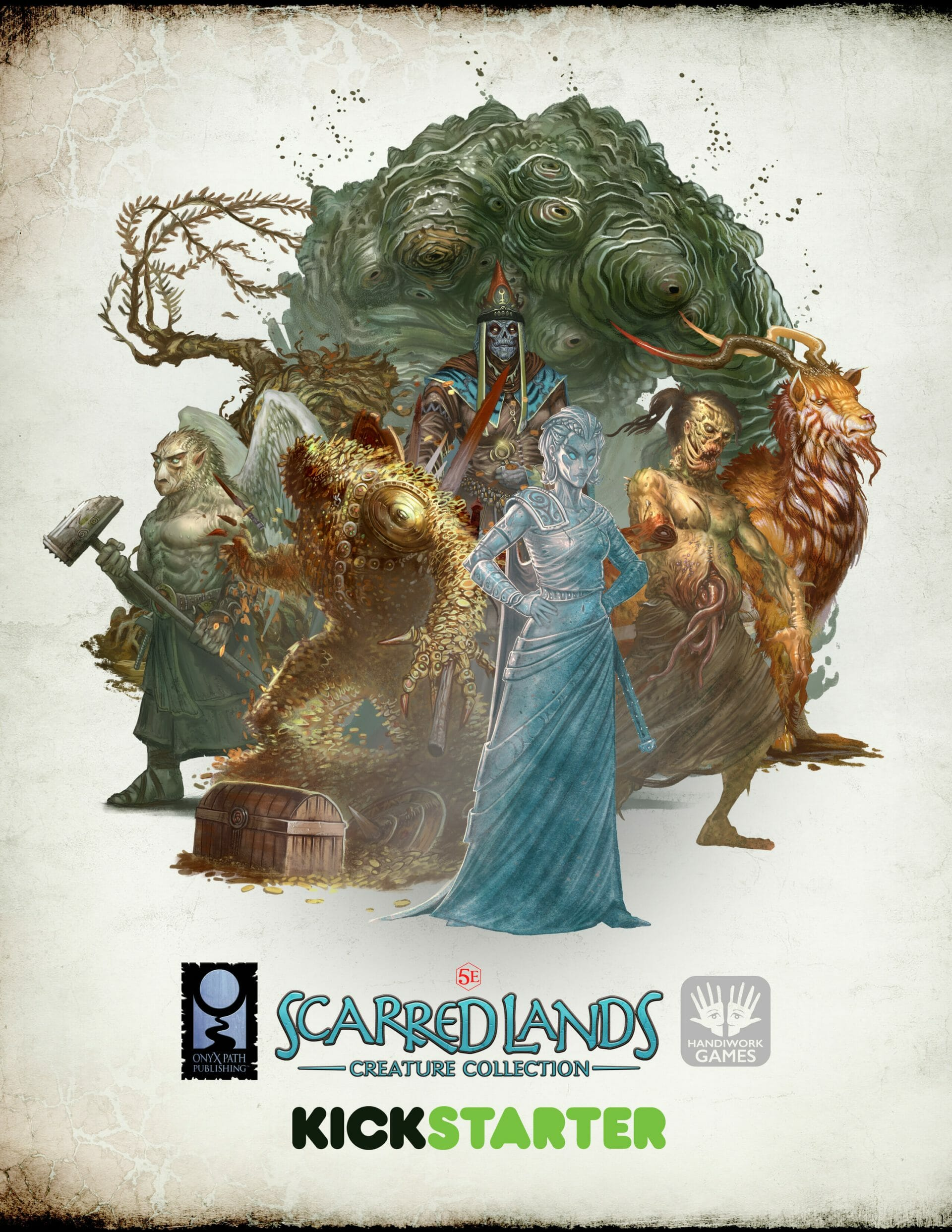 Scarred Lands Creature Collection