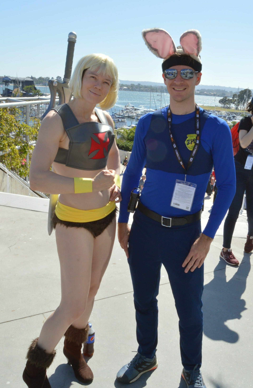 He-Man and Judy Hopps