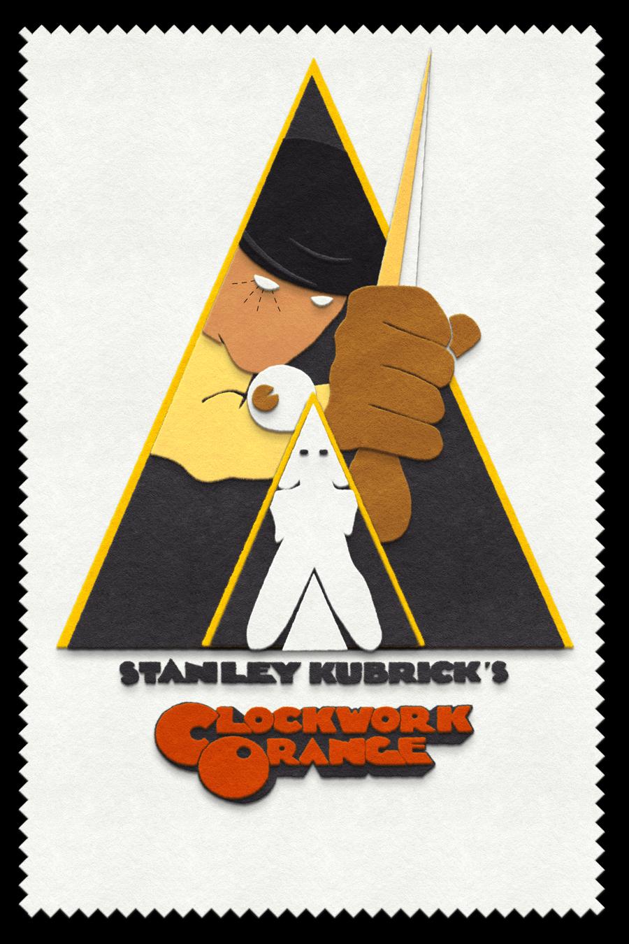 A Clockwork Orange  felt design