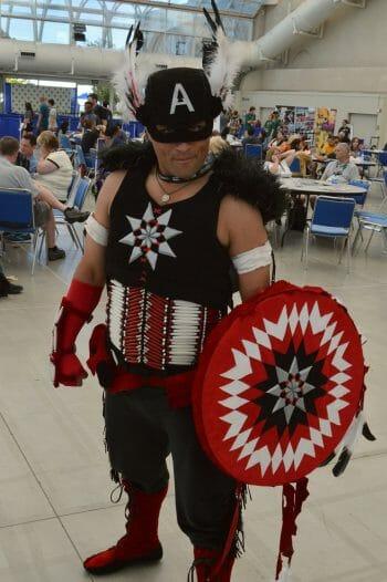 Native Captain America