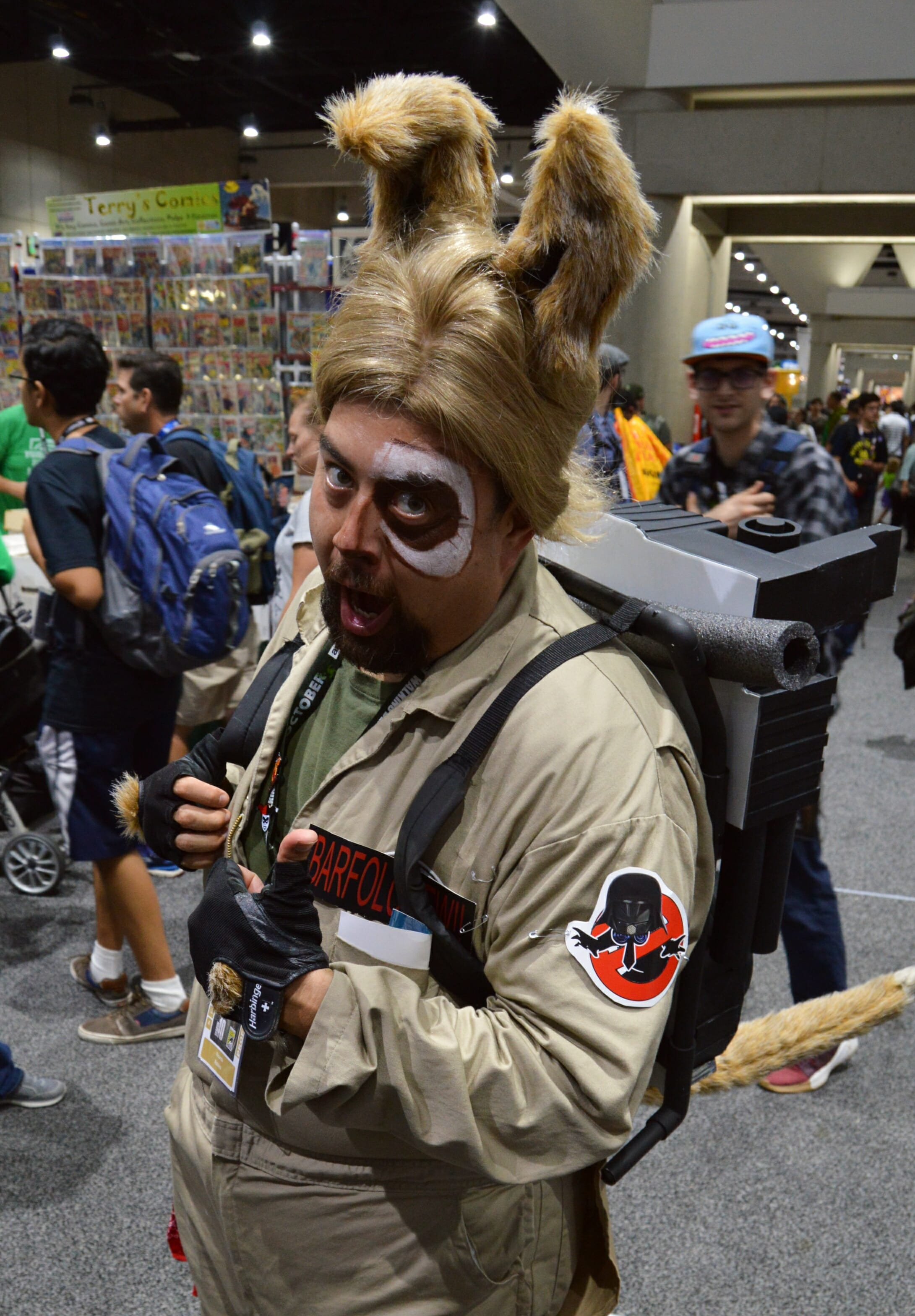 Barf  the Ghostbuster
