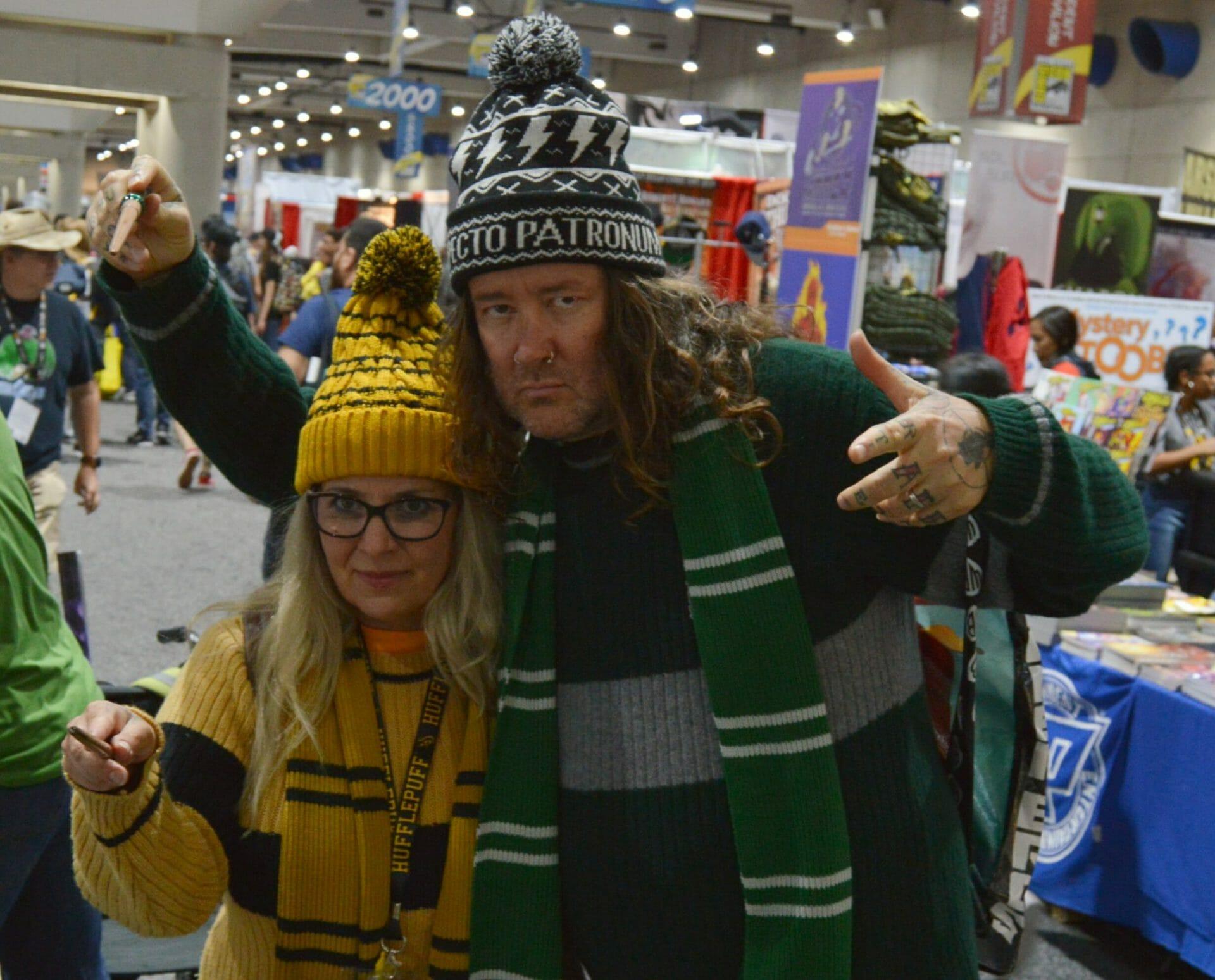 Wintertime Hogwarts Students