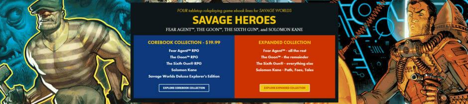 Bundle of Holding: Savage Heroes