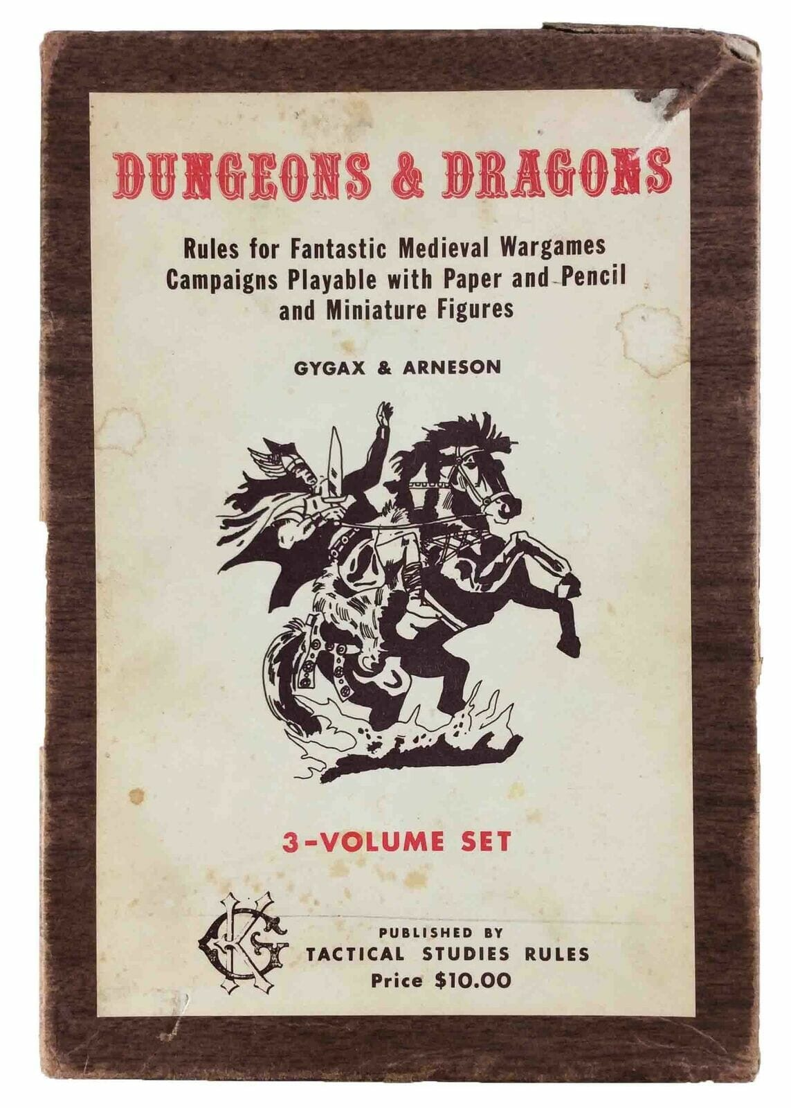 Rare original  D&D woodgrain box set