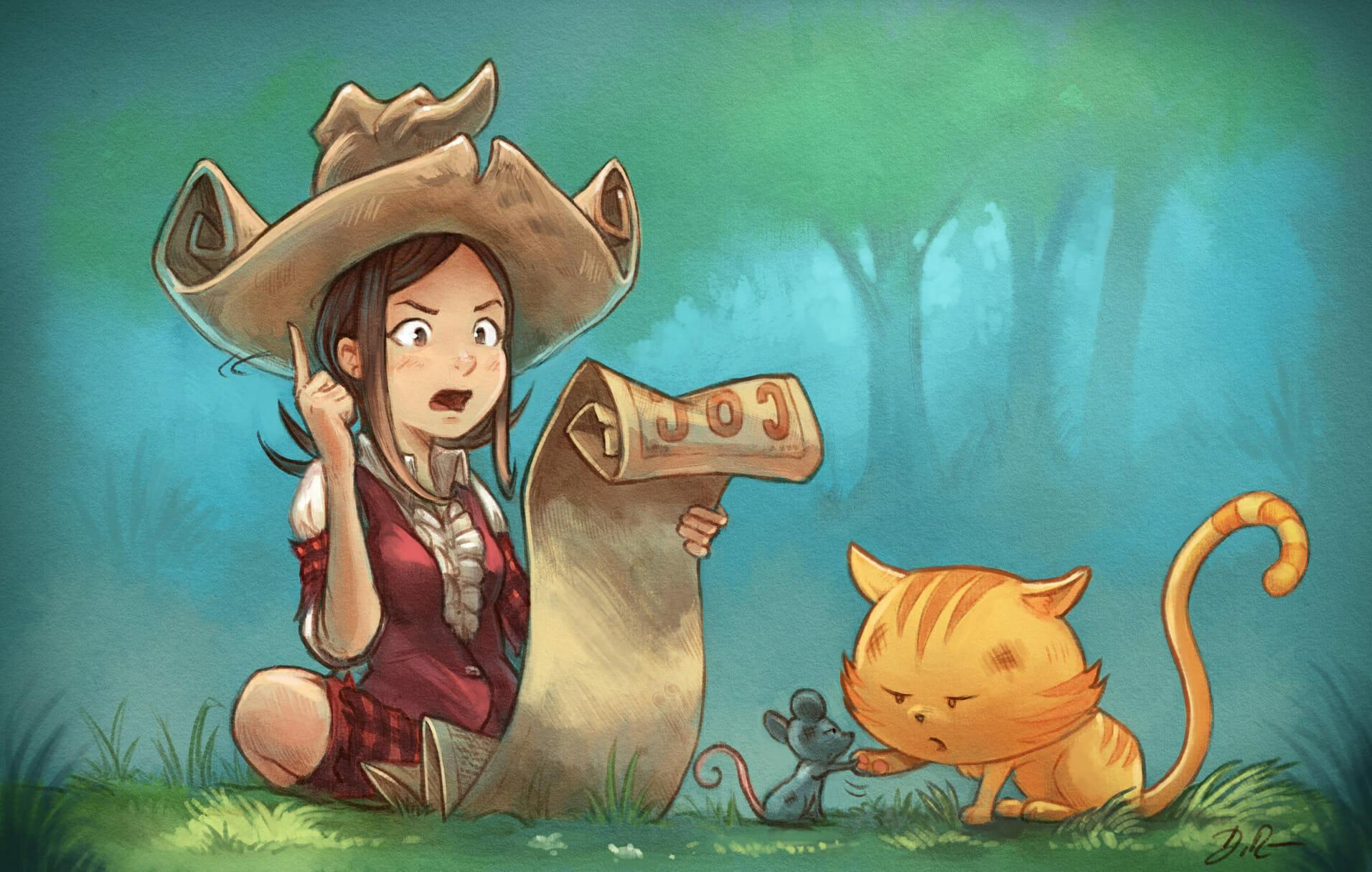 Witchcraft: Magic of Hereva / Pepper & Carrot RPG
