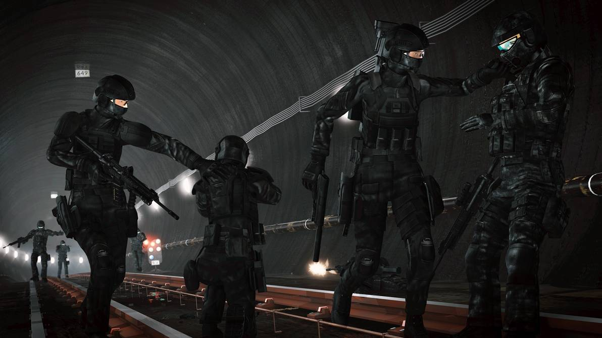 Crye Precisions Combat Clothing Scene