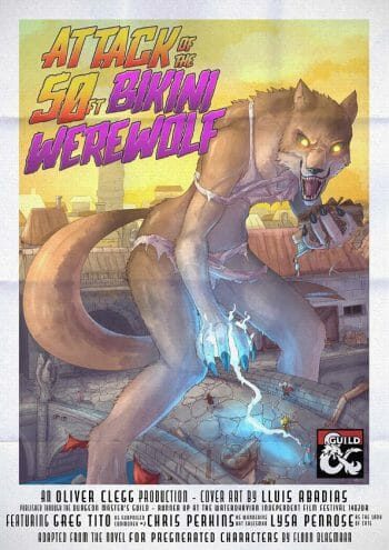 Attack of the 50 Foot Bikini Werewolf