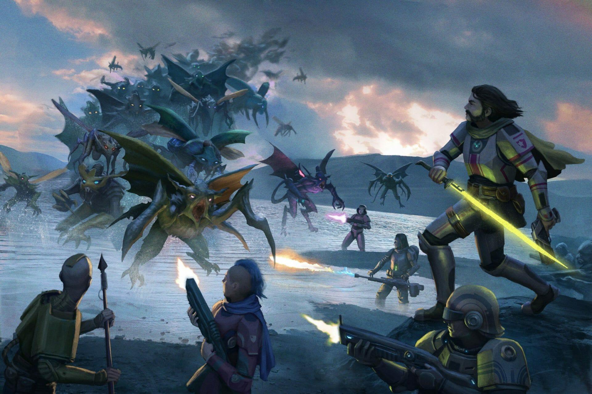 Fighting the Swarm in Starfinder