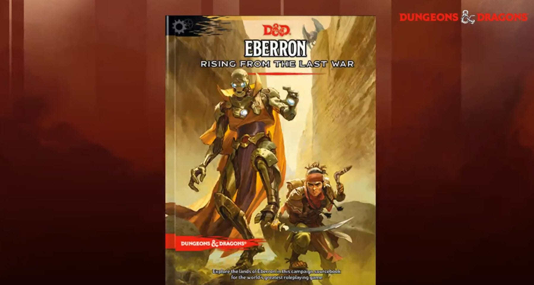 New Eberron: Rising from the Last War cover