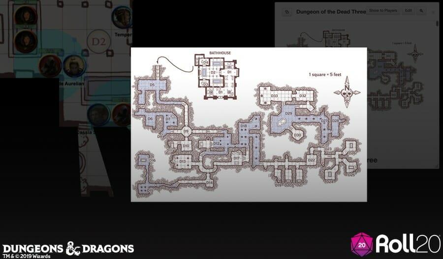 Baldur's Gate: Descent into Avernus Roll20 screenshot