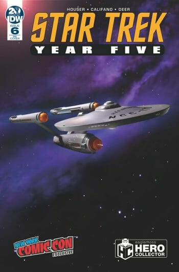 Star Trek: Year Five #6  - Hero Collector cover